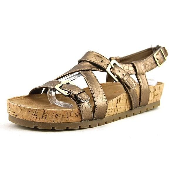 Aerosoles Complement Women Bronze Snake Sandals