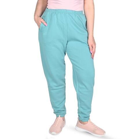 Shop LC JOVIE Seafoam Fleece Pant - 2X - M