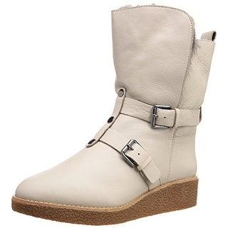 Rebecca Minkoff Womens Perry Lined Fur Lined Snow Boots
