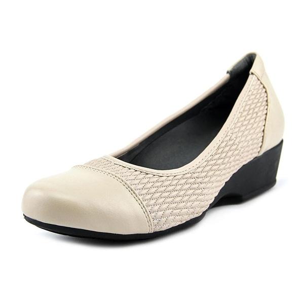 FootSmart Kimberly Women W Open Toe Synthetic Wedge Heel