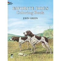 Dover - Coloring Book - Favorite Dogs