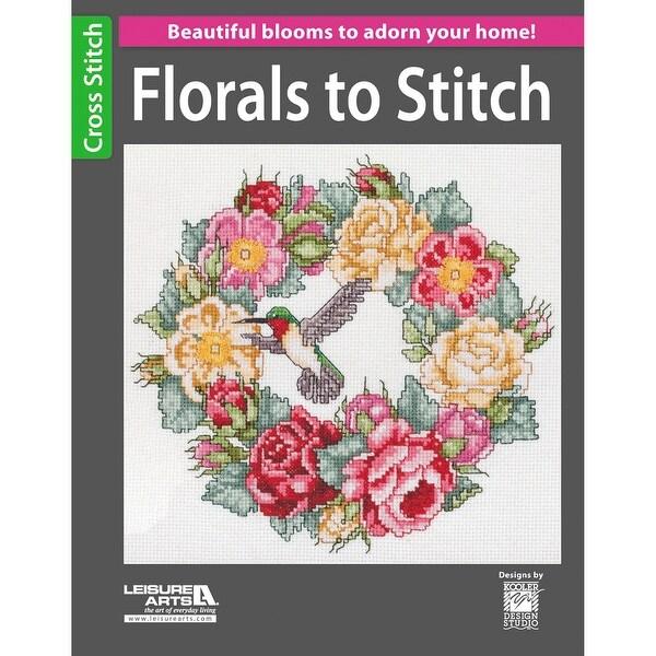 Leisure Arts-Florals To Stitch