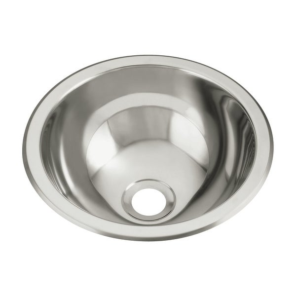 "Sterling 1411-0 13.625"" Single Basin Drop In or Undermount Stainless Steel Bar Sink with SilentShield®"