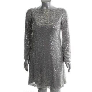 Ralph Lauren Womens Fiora Cocktail, Evening Dress Lined Sequined - 2