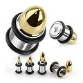 Ammunition Plug with O-rings 316L Surgical Steel (Sold Individually) - Thumbnail 0