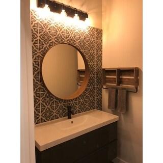 SomerTile 7.75x7.75-inch Cavado Grey Ceramic Tiles (11.11 sqft./case)