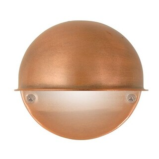 Moonrays 95734 Low Volt Round Deck Light, 7 Watt, Antique Copper
