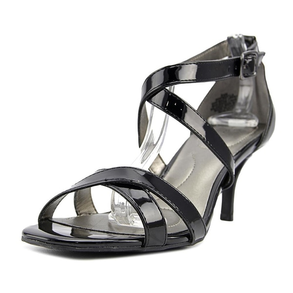 Bandolino Nakayla Women Open Toe Synthetic Black Sandals