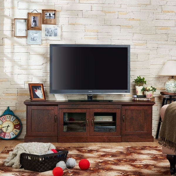 Furniture of America Bick 68-inch Multi-functional Storage TV Console. Opens flyout.