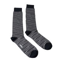 Missoni GM00CMU5231 0005 Gray/Black Knee Length Socks - Grey