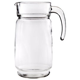 Palais Glassware 64 Ounce Capacity Clear Glass Pitcher (Clear)