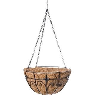 Finial Hanging Basket