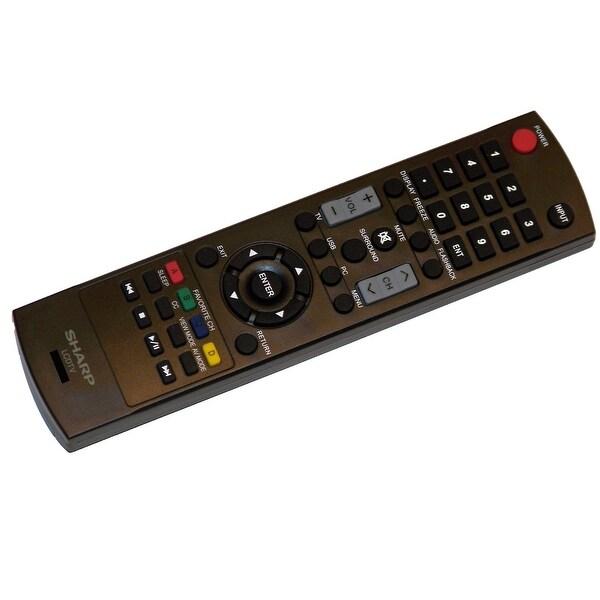 OEM Sharp Remote Control: LC26SV490U, LC-26SV490U, LC32A29L, LC-32A29L, LC32D59U, LC-32D59U, LC32SV29U, LC-32SV29U