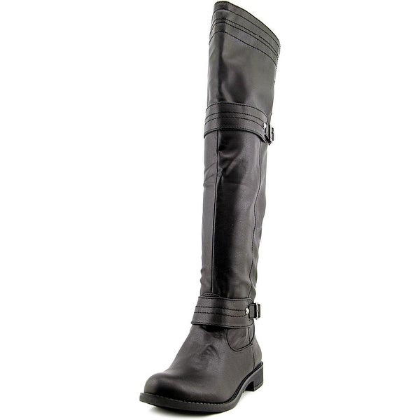 American Rag Mila Round Toe Synthetic Over the Knee Boot