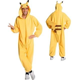 Adult Pokemon Pikachu Cozy Bodysuit Costume