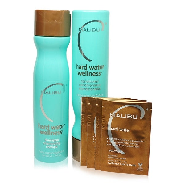 Malibu C Hard Water Wellness Treatment Kit