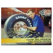 Signed Glidden Bob 1992 Pro Set Racing Card autographed