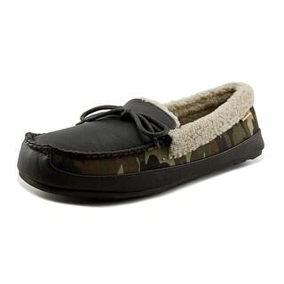 Tamarac Badger Round Toe Leather Slipper