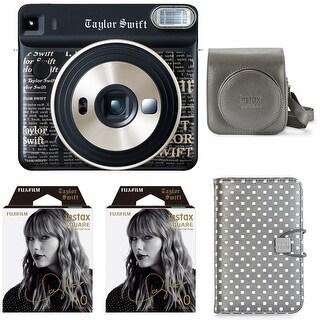 Fujifilm SQ6 Instax Square Camera Taylor Swift Edition Graphite Gift Bundle