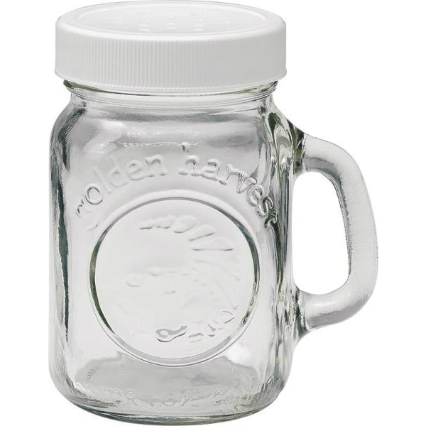 Jarden Home Brands 40501 Salt Or Pepper Shaker, 4 Oz, Clear Glass