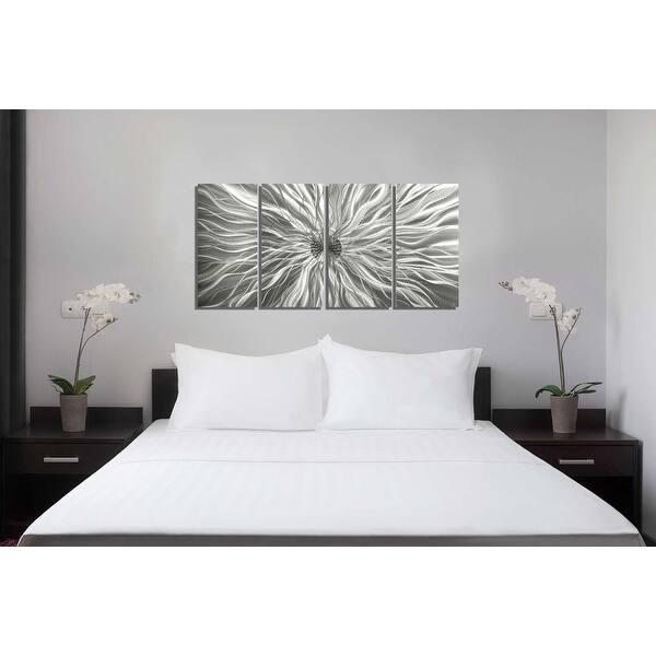 Shop Statements2000 Modern 3D Metal Wall Art Silver ...