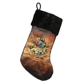 "Harry Potter Hogwarts Crest 19"" Stocking"