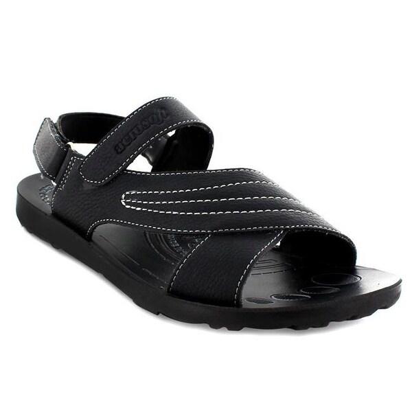 d1f79f52c82 Shop Aerosoft Footwear Summera Men Sandals - Black