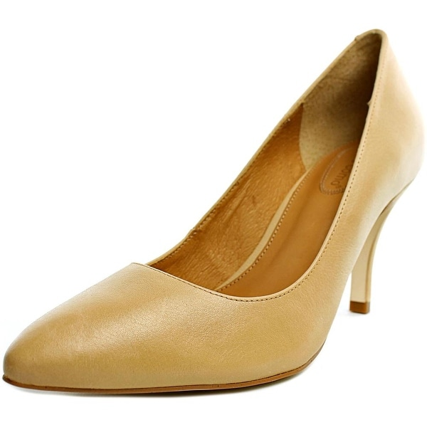 Corso Como Corrina Women Pointed Toe Leather Nude Heels
