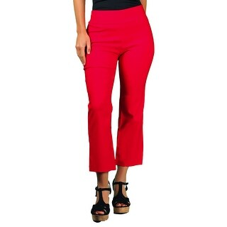 Ally NYC Women's Techno Thin Boot Cut Capri (More options available)