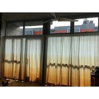Vue Signature Arashi Ombre Embroidery Curtain Panel