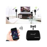 Mini Wireless Music Streamer DLNA Airplay EZcast QPLAY Black For Windows PC, Mac, iphone, Android