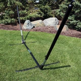 Sunnydaze Adjustable Hammock Stand Adjusts 10 to 12 Feet Fits Most Hammocks