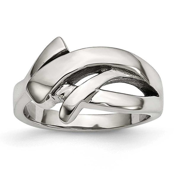Stainless Steel Polished Ring