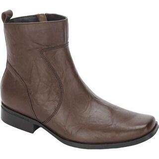 Rockport Men's High Trend Toloni Boot Dark Brown Leather