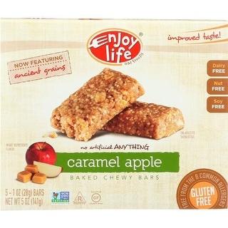 Enjoy Life - Caramel Apple Gluten Free Snack Bar ( 6 - 5 OZ)