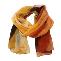 Large Silk Scarves flower print