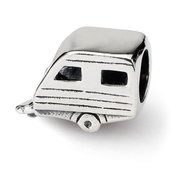 Sterling Silver Reflections Trailer Bead (4mm Diameter Hole)