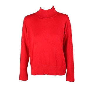 Lauren Ralph Lauren Red Turtleneck Sweater M