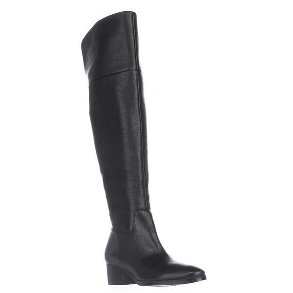 Lauren Ralph Lauren Dallyce Over-The-Knee Boots, Black