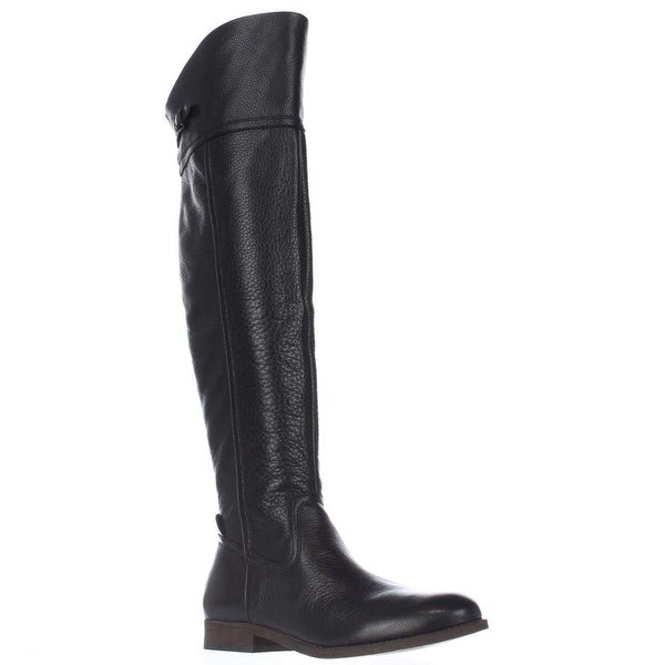 Franco Sarto Hydie Tall Riding Boots, Black
