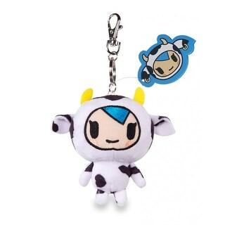 """Tokidoki Mozzarella 4"""" Plush Keychain - multi"""