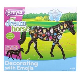 Breyer 1:12 Classics Model Horse: Decorate Emoji Horse - multi
