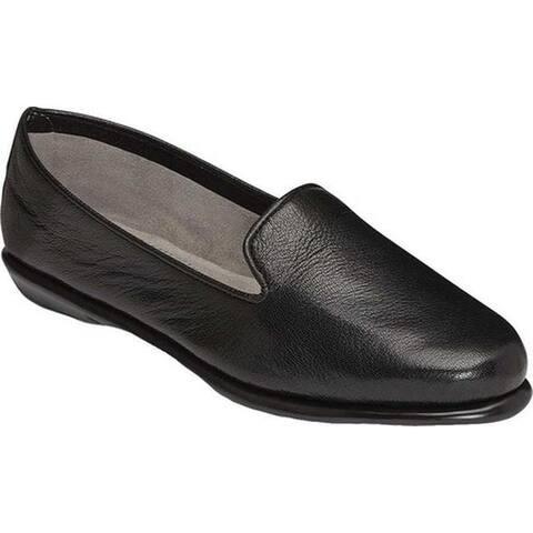 Aerosoles Women's Betunia Black Leather