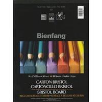 "20 Sheets - Bienfang Bristol Board Vellum Paper Pad 9""X12"""