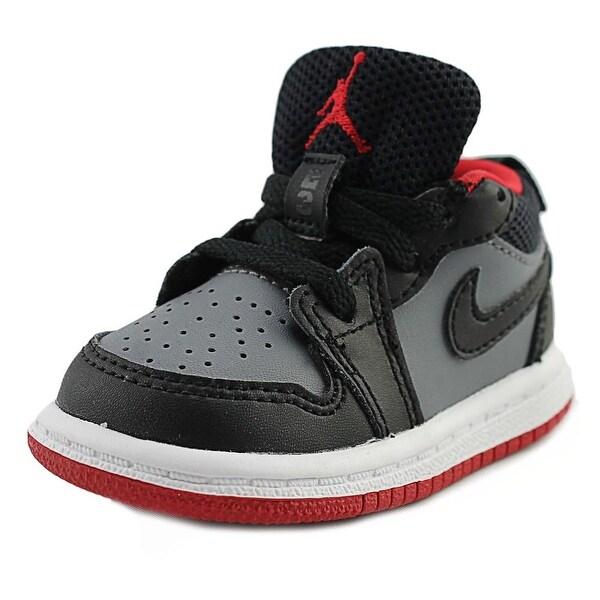 Jordan Air Jordan 1 Low Infant Round Toe Leather Gray Sneakers