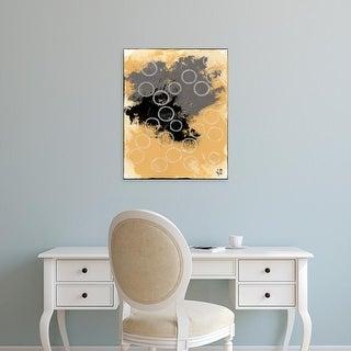 Easy Art Prints Natalie Avondet's 'Disco Lemon Juice II' Premium Canvas Art