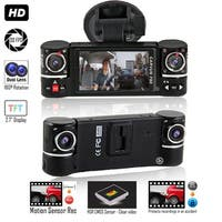 """Indigi NEW 2017 2.7"""" LCD Wide Angle Dash Cam DVR + 2.7"""" LCD + Motion Detect"""