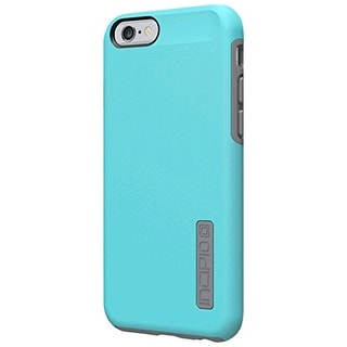 Incipio DualPro Case Cover for Apple iPhone 6/6s (Light Blue/Cool Gray) - IPH-11