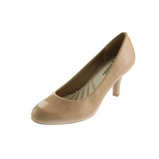 Easy Street Womens Pumps Patent Textured - 7.5 narrow (aa,n)