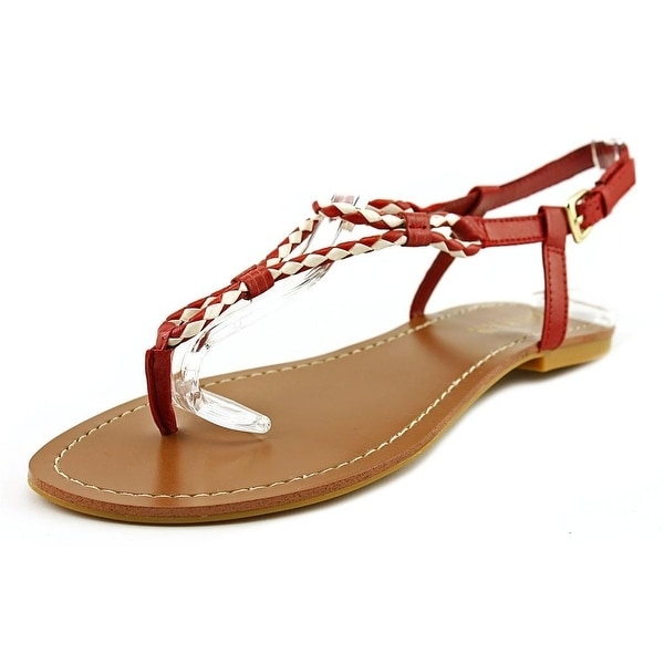 Lauren Ralph Lauren Alexa   Open-Toe Leather  Slingback Sandal